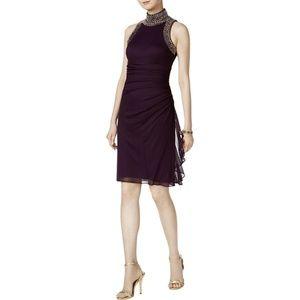 Betsy & Adam Purple  dress